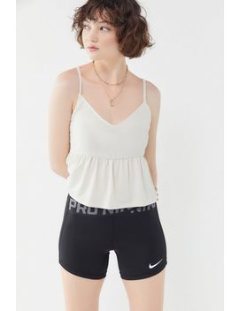 Uo Babydoll Cropped Cami by Urban Outfitters