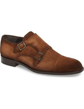 Quentin Cap Toe Monk Shoe by To Boot New York