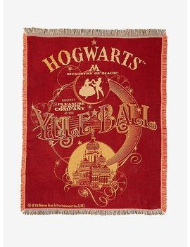Harry Potter Yule Ball Tapestry Throw Blanket by Hot Topic