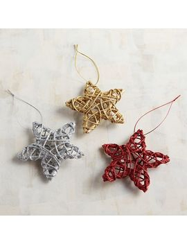 Star Rattan Ornament by Pier1 Imports