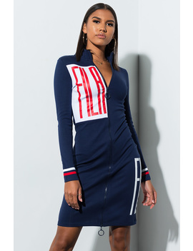 Fila Ada Zip Dress by Akira