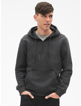 Gap + Gq Stampd Logo Convertible Pullover Hoodie by Gap