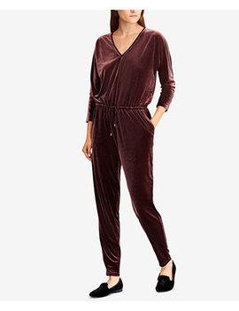 Velvet V Neck Jumpsuit by Lauren Ralph Lauren