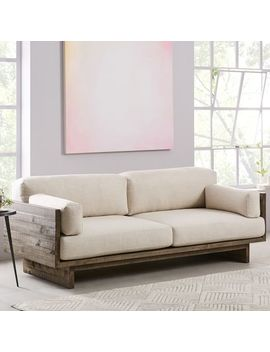 "Emmerson® Reclaimed Wood Sofa (82"") by West Elm"