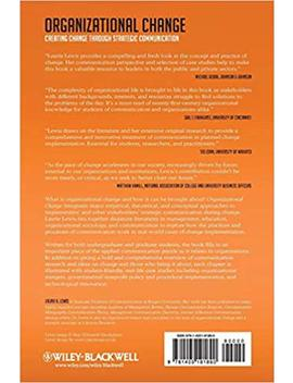 Organizational Change: Creating Change Through Strategic Communication by Laurie Lewis
