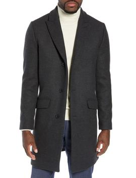 Slim Fit Wool Blend Topcoat by Bonobos