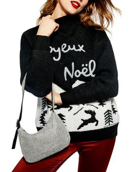 Joyeux Noël Christmas Sweater by Topshop