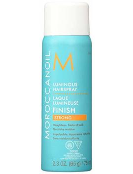 Moroccanoil Luminous Hairspray Strong Travel Size Fragrance Originale, 2.29 Fl. Oz. by Moroccanoil