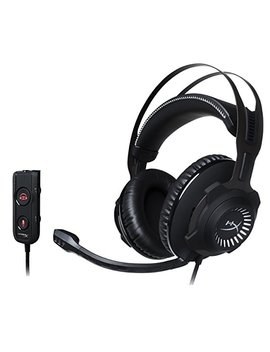 Hyper X Cloud Revolver S Gaming Headset With Dolby 7.1 Surround Sound   Steel Frame   Signature Memory Foam   Premium Leatherette   Works With Pc, Ps4, Ps4 Pro, Xbox One, Xbox One S (Hx Hscrs Gm/Na) by Hyper X