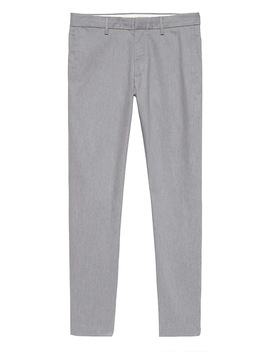 Mason Athletic Tapered Heathered Rapid Movement Chino by Banana Repbulic