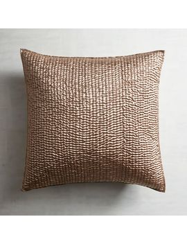 Essex Taupe Euro Pillow Sham by Pier1 Imports