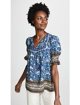 Doe Print Blouse by Sea