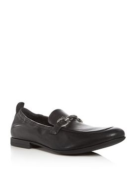 Men's Celso Leather Apron Toe Loafers by Salvatore Ferragamo