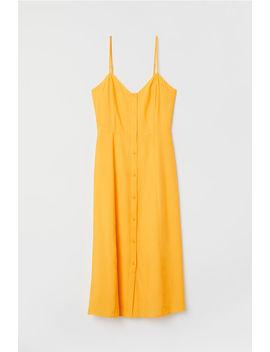 Платье с застежкой by H&M