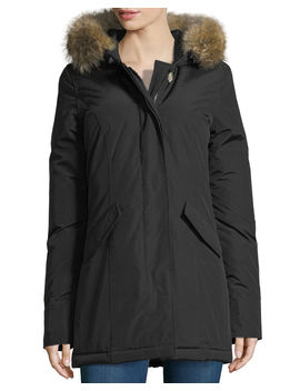 Arctic Placket Front Parka W/ Fur Hood by Woolrich