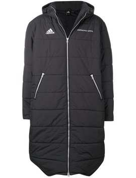 Gosha Rubchinskiy X Adidas Padded Hooded Maxi Coat by Gosha Rubchinskiy
