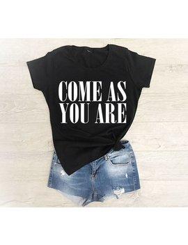 Nirvana Shirt, Nirvana T Shirt, Nirvana Shirt Women, Come As You Are Shirt, Come As You Are Nirvana, 90s Grunge, Grunge Shirt, Kurt Cobain by Etsy