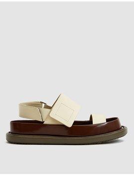 Platform Fussbett Sandal by Marni