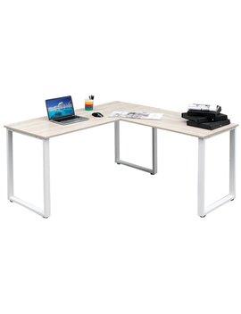 Merax L Shape Computer Desk & Reviews by Merax