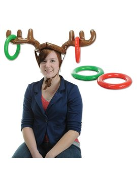 The Holiday Aisle Inflatable Reindeer Ring Toss & Reviews by The Holiday Aisle
