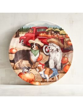 Park Avenue Puppies™ Harvest Salad Plate by Grateful Harvest Collection