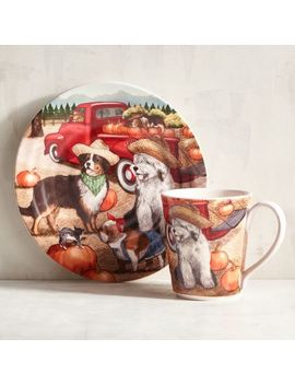 Park Avenue Puppies™ Harvest Dinnerware by Grateful Harvest Collection