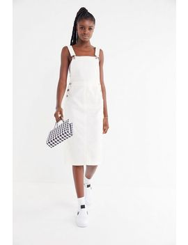 Uo Hepburn Overall Midi Dress by Urban Outfitters