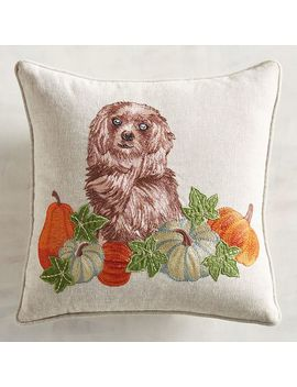 Reggie Dog Mini Pillow by Grateful Harvest Collection