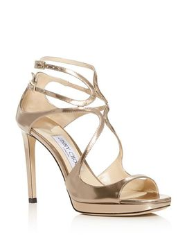 Women's Lance 100 Strappy High Heel Sandals by Jimmy Choo
