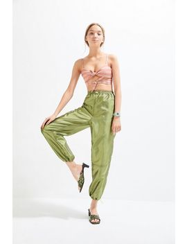 Uo Tanya Satin High Rise Balloon Pant by Urban Outfitters