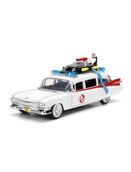 Hollywood Rides Ghosbusters Ecto 1 1:24 Scale Die Cast Vehicle By Jada Toys by Ghostbusters