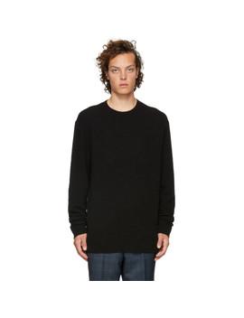Black Seridon Sweater by Hugo
