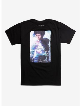 Ghost In The Shell Triangle Poster Graphic T Shirt by Hot Topic