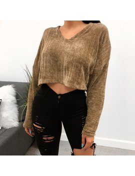 Arianna Sweater (Taupe) by Laura's Boutique