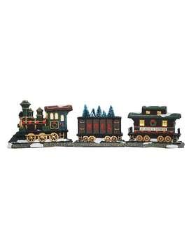 St. Nicholas Square® Village Set Of 3 Train Set by St. Nicholas Square