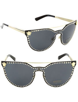 New Versace Ve 2177 Cat Eye Sunglasses 4 Colors (Choose Color) by Versace