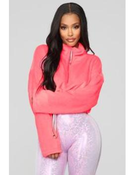 Made For You Sweatshirt   Pink by Fashion Nova