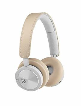 Bang & Olufsen Beoplay H8i Wireless Bluetooth On Ear Headphones With Active Noise Cancellation (Anc), Transparency Mode And Microphone – Natural by Bang & Olufsen