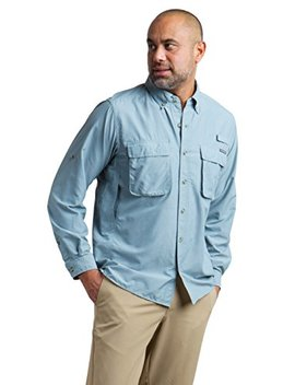 Ex Officio Men's Air Strip Long Sleeve Shirt by Ex Officio