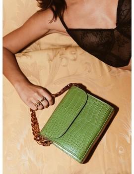 Nita Hyde Bag Green by Princess Polly