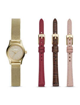 Limited Edition Estate Mini Interchangeable Strap Box Set by Fossil