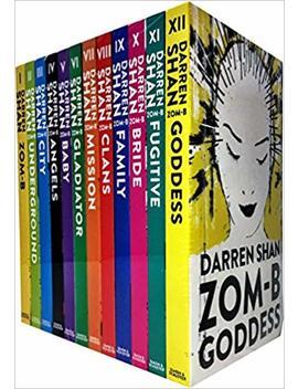 Zom B 12 Books Collection Set Pack By Darren Shan (Zom B, Underground, City, Angles, Baby, Gladiator, Mission, Clans, Family, Bridge, Fugitive, Goddess) (Zom B Book 1 12) by Darren Shan