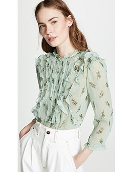 Floral Ruffle Top by Coach 1941