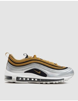 Air Max 97 Se Sneaker In Metallic Gold by Nike