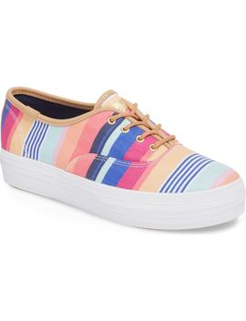 X Sunnylife Triple Catalina Stripe Kickstart Sneaker by Keds®