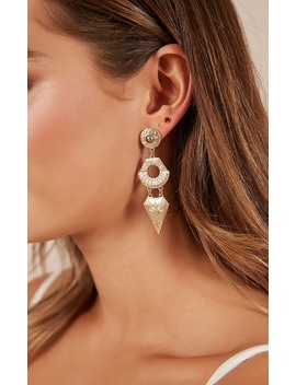 Sense Of Home Earrings In Gold by Showpo Fashion