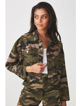 Jaxon Military Jacket by Cotton On
