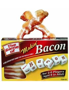 Makin' Bacon Dice Game by Tdc Games