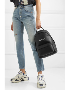 Everyday Printed Leather Backpack by Balenciaga