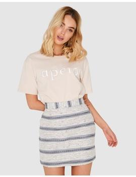Heavenly Jacquard Mini Skirt by Apero Label